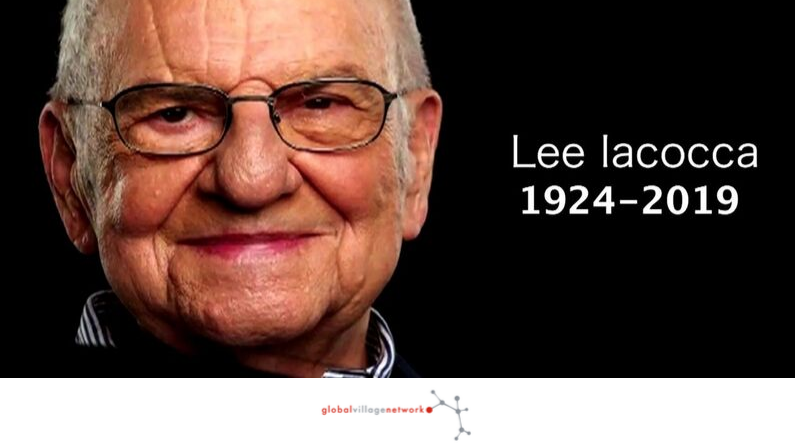 Thank You Mr. Lee Iacocca